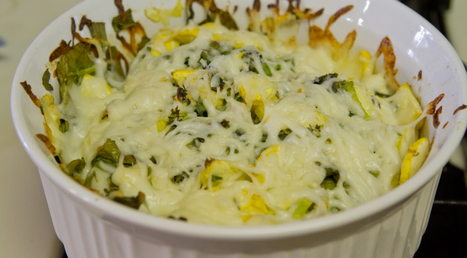 cheesy zucchini bake