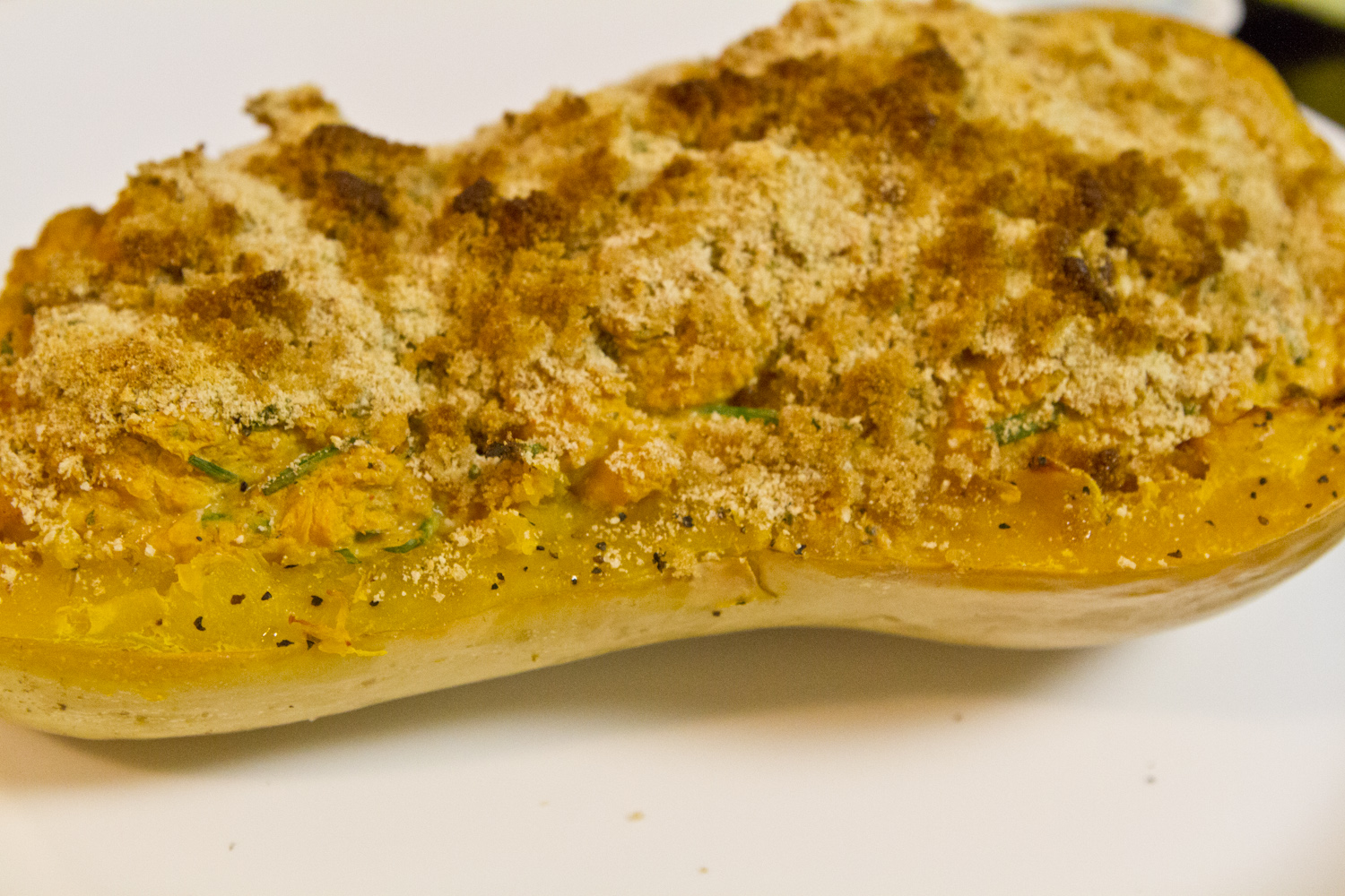 Twice-Baked Butternut Squash Recipe — Dishmaps